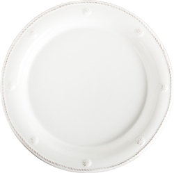 Juliska Berry and Thread Round Dessert Plate Whitewash