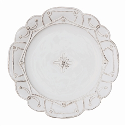 Juliska Jardins du Monde Dinner Plate Whitewash