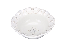 Juliska Jardins du Monde Cereal Bowl Whitewash