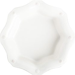 Juliska Berry and Thread Scallop Pasta Bowl Whitewash