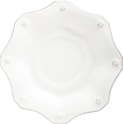 Juliska Berry and Thread Scallop Saucer Whitewash