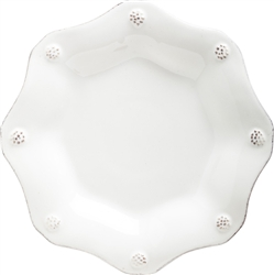 Juliska Berry and Thread Scallop Tea Plate Whitewash