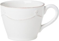 Juliska Berry and Thread Tea-Coffee Cup Whitewash