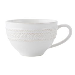 Juliska Le Panier Whitewash Tea-Coffee Cup