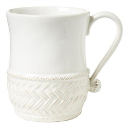 Juliska Le Panier Whitewash Mug