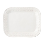 Juliska Le Panier Whitewash 11.5in. Platter