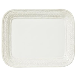 Juliska Le Panier Whitewash 14.5in. Platter