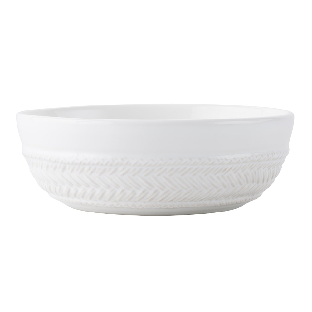 Juliska Le Panier Whitewash Coupe Pasta-Soup Bowl