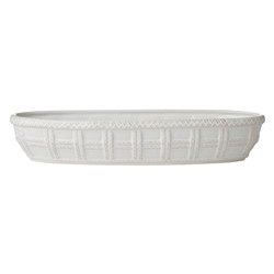Juliska Le Panier Whitewash Bread Basket