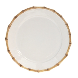 Juliska Classic Bamboo Round Charger Plate Natural