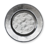 Juliska Pewter Ceramic Stoneware Round Side Plate