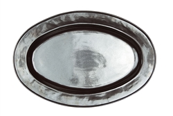 Juliska Pewter Stoneware Large Oval Platter