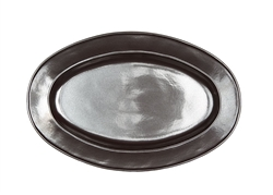Juliska Pewter Stoneware Medium Oval Platter