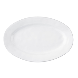 Juliska Quotidien Large Oval Platter White Truffle