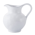 Juliska Quotidien Small Pitcher/Creamer White Truffle