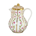 Bernardaud Roseraie Coffee Pot