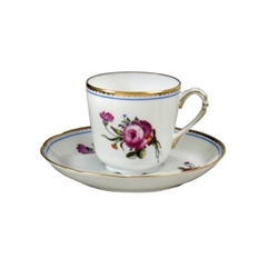 Bernardaud A La Reine After Dinner Cup Only