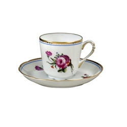 Bernardaud A La Reine Coffee Cup Only