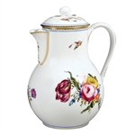 Bernardaud A La Reine Coffee Pot