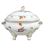 Bernardaud A La Reine Footed Soup Tureen