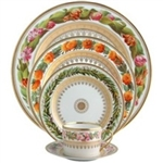 Bernardaud Botanique 5 Piece Place Setting