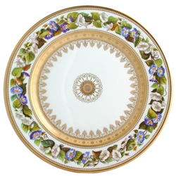 Bernardaud Botanique Dinner Plate Morning Glory