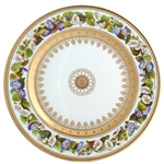 Bernardaud Botanique Dinner Plates, Set of 6 Asst.