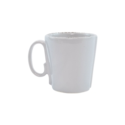 Vietri Lastra Light Gray Mug - LAS-2610LG
