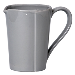Vietri Lastra Gray Pitcher