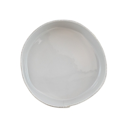 Vietri Lastra Light Gray Medium Serving Bowl - LAS-2631LG