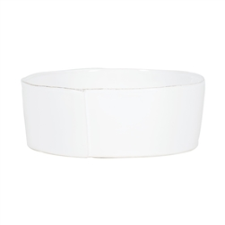 Vietri Lastra Linen Large Serving Bowl - LAS-2632L