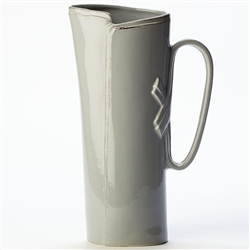 Vietri Lastra Gray Tavern Pitcher