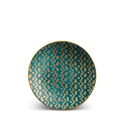 L'objet Fortuny Canape Plates Tapa Teal Set/4