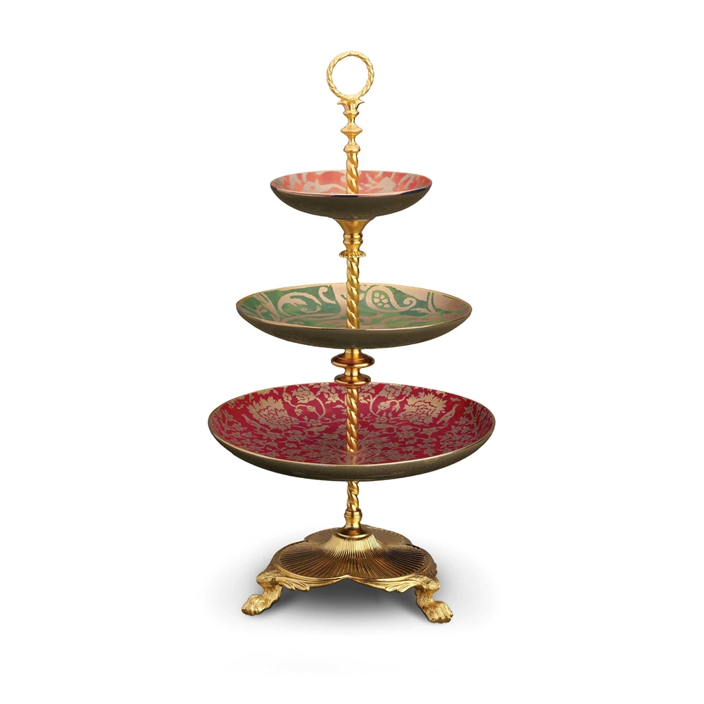 L'objet Fortuny 3-Tiered Server Multi-Color