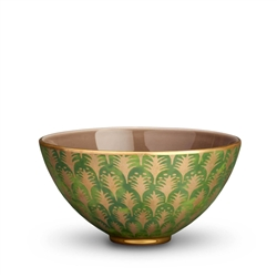 L'objet Fortuny Bowl Piumette  Green - Medium