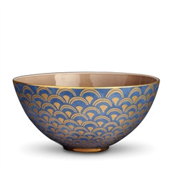 L'objet Fortuny Bowl Papiro Blue Large