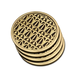 L'objet Fortuny Coasters Venise Set of 4