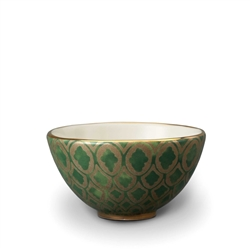 L'objet Fortuny Cereal Bowls Peruviano Green Set/4