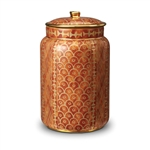 L'objet Fortuny Canister Ashanti Orange Large