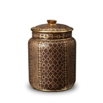 L'objet Fortuny Canister Ashanti Grey - Medium