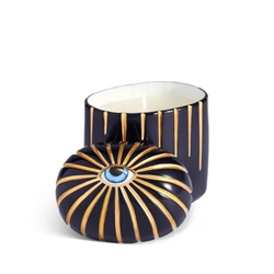 L'objet Lito-Candle Blue+Gold
