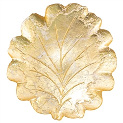 Vietri Moon Glass Leaf Platter - MNN-5222