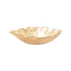 Vietri Moon Glass Leaf Medium Bowl - MNN-5237