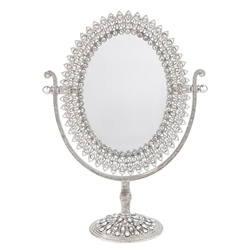 Olivia Riegel Oval Magnified Standing Mirror