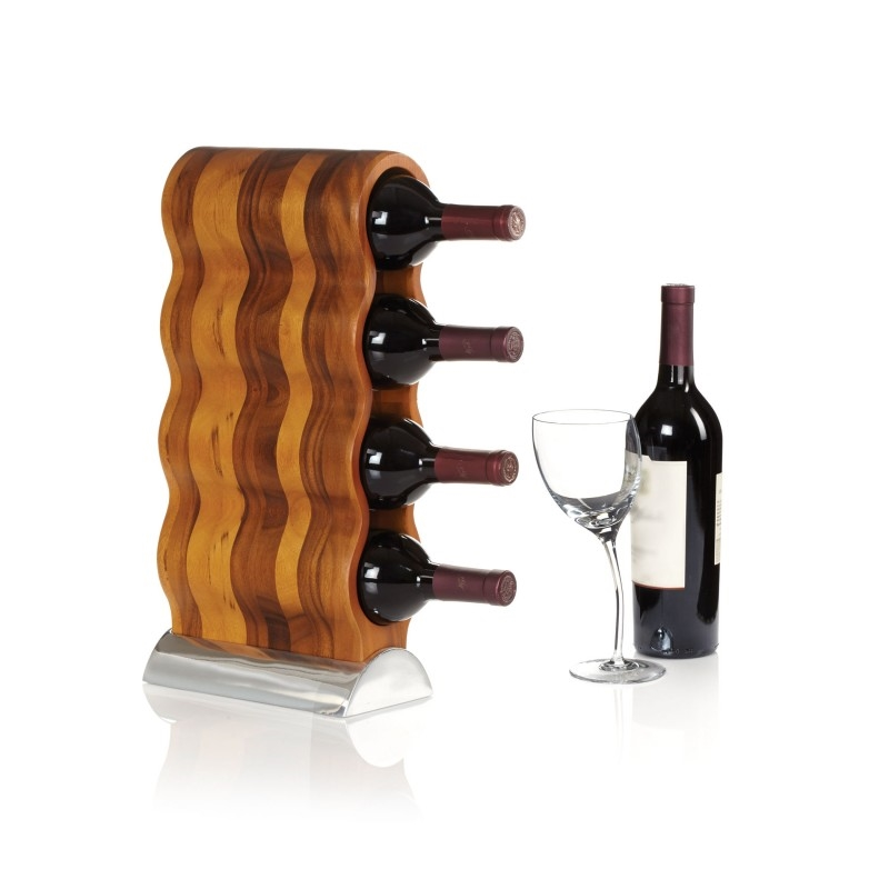 Nambe Curvo Wine Rack