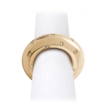L'objet Stars Gold Napkin Rings - Set of 4