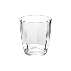 Vietri Optical Clear Double Old Fashioned