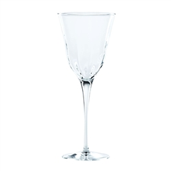 Vietri Optical Clear Wine Glass