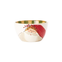 Vietri Old St Nick Cereal Bowl - Animal Hat - OSN-78051C
