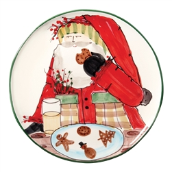 Vietri Old St Nick Cookie Plate - OSN-7839